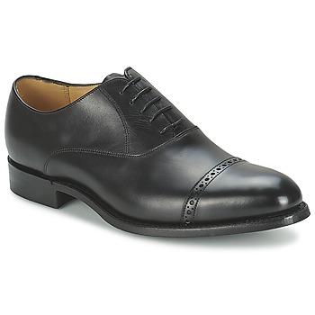 Schuhe Herren Richelieu Barker BURFORD Schwarz