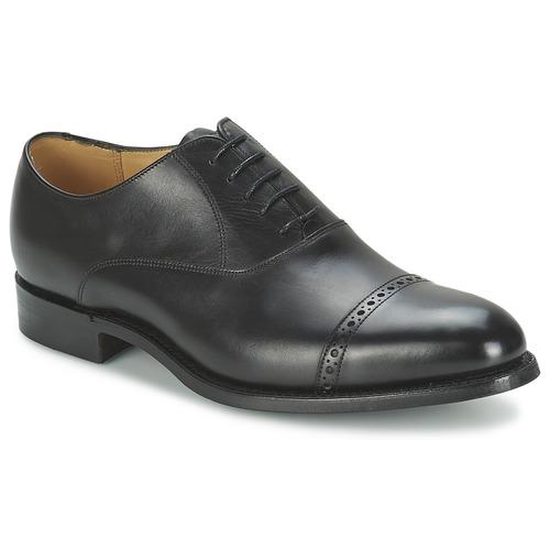 Barker Barker Barker BURFORD Schwarz  Schuhe Richelieu Herren 279 47bc65