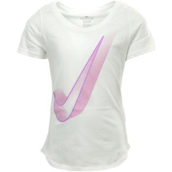 Kleidung Mädchen T-Shirts Nike Kids Nsw Tee Scoop Interstellar Weiss