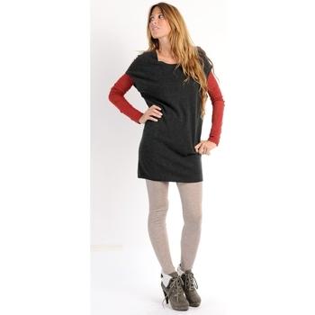 Kleidung Damen Kleider American Vintage ROBE SOO247H10 ANTHRACITE Grau