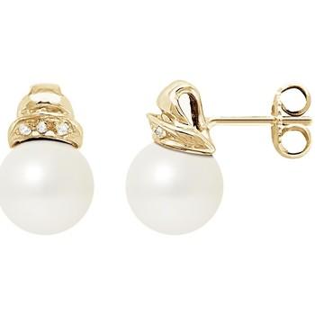 Uhren & Schmuck Damen Ohrringe Blue Pearls BPS K605 W Multicolor