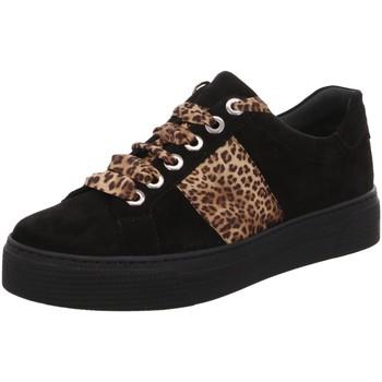 Schuhe Damen Sneaker Low Semler Schnuerschuhe Alexa, A5245042001 schwarz