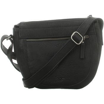 Taschen Damen Umhängetaschen Voi Leather Design Mode Accessoires 30453 SZ schwarz