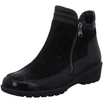 Schuhe Damen Low Boots Waldläufer Stiefeletten TAIPEI BRIZU MEMPHIS 675803-306/001 001 schwarz