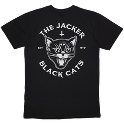 Kleidung Herren T-Shirts Jacker Black cats Schwarz
