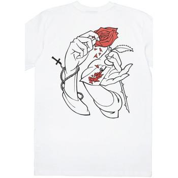 Kleidung Herren T-Shirts Jacker Holy roses Weiss