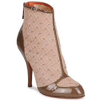 Schuhe Damen Low Boots Missoni LISCIA Beige / Braun