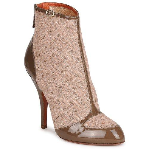 Missoni LISCIA Beige / Braun Schuhe Low Boots Damen 304,50