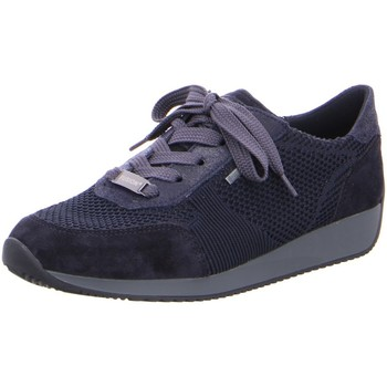Schuhe Damen Sneaker Low Ara Schnuerschuhe 12-44063-02 blau