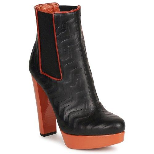 Missoni STAMP Schwarz  Schuhe Low Stiefel Damen