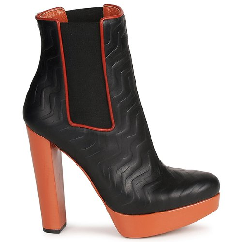 Missoni STAMP Schwarz Schuhe Damen Low Boots Damen Schuhe 327,60 c5882a