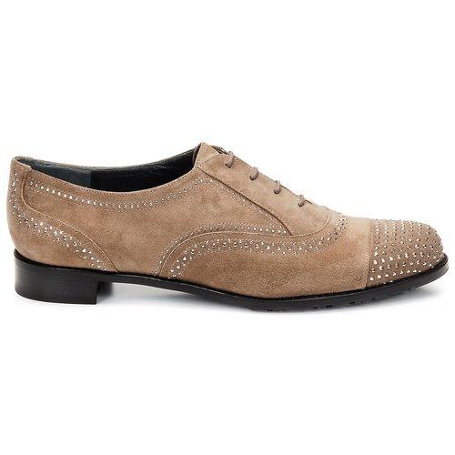 Stuart Weitzman DERBY Beige Schuhe Richelieu Damen 177,60