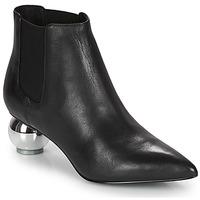 Schuhe Damen Low Boots Katy Perry THE DISCO Schwarz