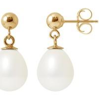 Uhren & Schmuck Damen Ohrringe Blue Pearls BPS K608 W Multicolor