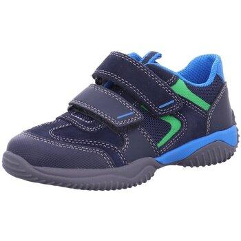Schuhe Jungen Sneaker Low Superfit Klettschuhe 9384-80 blau
