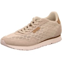 Schuhe Damen Sneaker Low Woden Nora II Mesh WL869-049 SEA FOG GREY grau