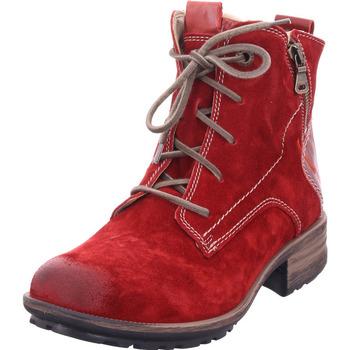 Schuhe Damen Klassische Stiefel Seibel Sandra 75 rot