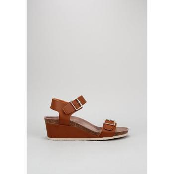 Schuhe Damen Sandalen / Sandaletten Senses & Shoes GIUDECA Braun