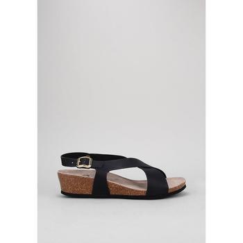 Schuhe Damen Sandalen / Sandaletten Senses & Shoes SANTA POLA Schwarz