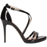 Schuhe Damen Sandalen / Sandaletten Bailly 949 schwarz