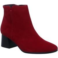 Schuhe Damen Ankle Boots Paul Green Stiefeletten 9609-045 rot