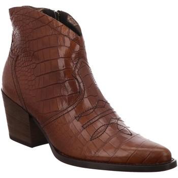 Schuhe Damen Klassische Stiefel Paul Green Stiefeletten 9666 9666-045 braun
