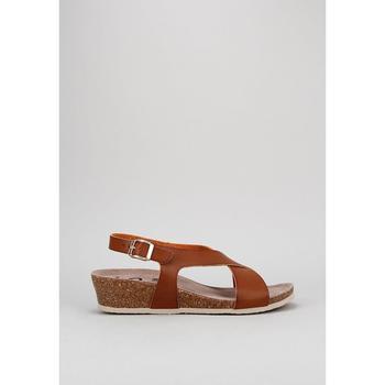 Schuhe Damen Sandalen / Sandaletten Senses & Shoes SANTA POLA Braun