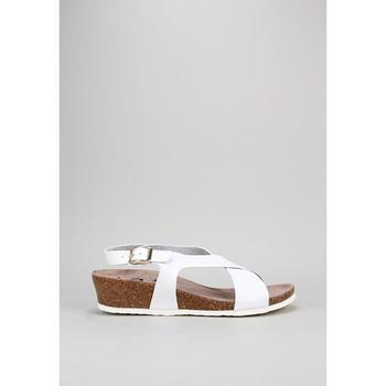 Schuhe Damen Sandalen / Sandaletten Senses & Shoes SANTA POLA Weiss