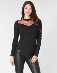 Kleidung Damen Tops / Blusen Moony Mood LAMELI Schwarz