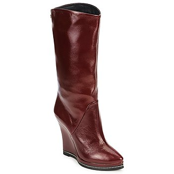 Schuhe Damen Low Boots Fabi FD9737 Bordeaux