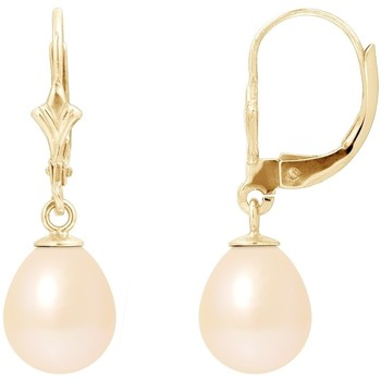 Uhren & Schmuck Damen Ohrringe Blue Pearls BPS K611 W Multicolor