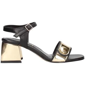 Schuhe Damen Sandalen / Sandaletten Martina B 19-610/p12-g5 Schwarz / Platinum