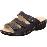 Schuhe Damen Pantoletten / Clogs Longo Pantoletten 1006392 1006392 schwarz