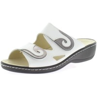 Schuhe Damen Pantoletten / Clogs Longo Pantoletten Beq-Pantl-Wörishf-30 1006401 1 weiß