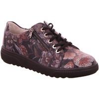 Schuhe Damen Sneaker Low Waldläufer Schnuerschuhe 910004-193/052 grau