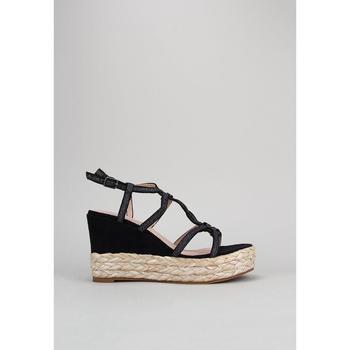 Schuhe Damen Sandalen / Sandaletten D'angela  Schwarz