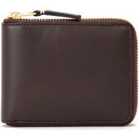 Taschen Damen Portemonnaie Comme Des Garcons Comme Des Garçons Portemonnaie Wallet in Leder Dunkelbraun Braun