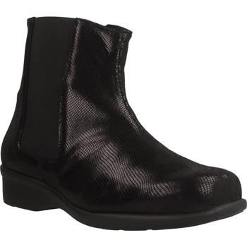 Schuhe Damen Low Boots Trimas Menorca 1253T Schwarz
