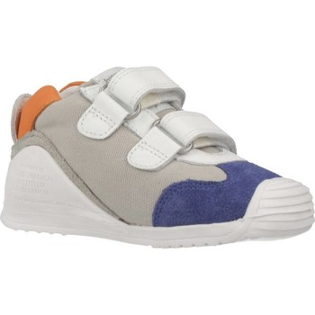 Schuhe Jungen Sneaker Low Biomecanics SANDALIA SAUVAGE REJULLA Weiß