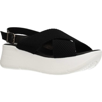 Schuhe Damen Sandalen / Sandaletten Clover 15719C Schwarz