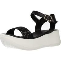 Schuhe Damen Sandalen / Sandaletten Clover 15741C Schwarz