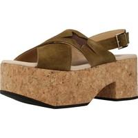 Schuhe Damen Sandalen / Sandaletten Clover 7129C Grün
