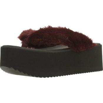Schuhe Damen Zehensandalen Clover 89828 Rot