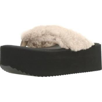Schuhe Damen Zehensandalen Clover 89828 Brown