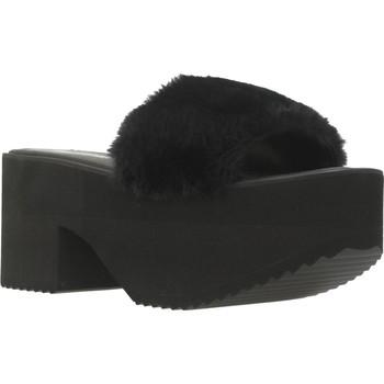 Schuhe Damen Pantoffel Clover 89835 Schwarz