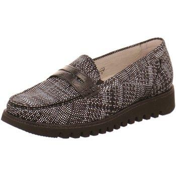 Schuhe Damen Slipper Waldläufer Slipper Habea Slipper 926504/200001 schwarz