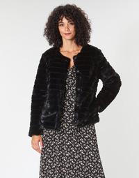 Kleidung Damen Mäntel Lauren Ralph Lauren FAUX CHUBBY Schwarz