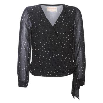Kleidung Damen Tops / Blusen Moony Mood LUKE Schwarz