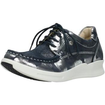 Schuhe Damen Derby-Schuhe & Richelieu Wolky Schnuerschuhe One / strech /camoufalge 0590114870 silber