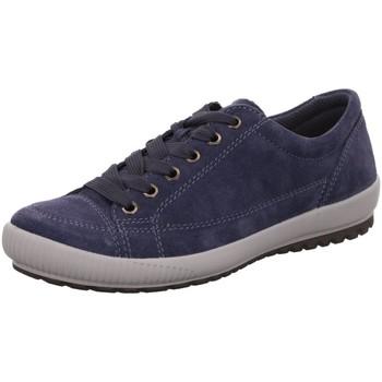 Schuhe Damen Sneaker Low Legero Schnuerschuhe 2-000820-8400 blau